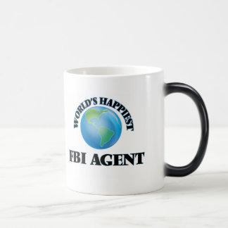El agente del FBI más feliz del mundo Taza Mágica