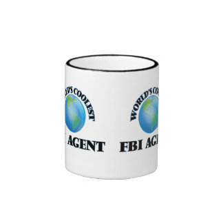 El agente del FBI más fresco del mundo Taza De Dos Colores