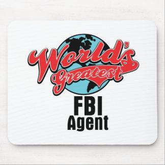 El agente del FBI más grande de los mundos Alfombrilla De Ratones