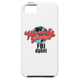El agente del FBI más grande de los mundos iPhone 5 Carcasa