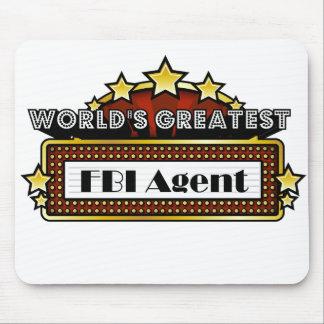 El agente del FBI más grande del mundo Alfombrillas De Ratón