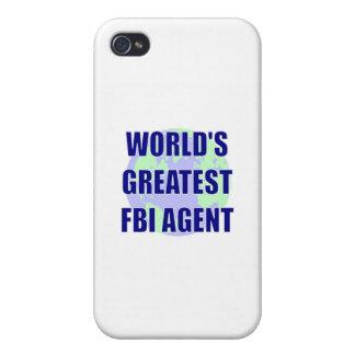 El agente del FBI más grande del mundo iPhone 4/4S Carcasas