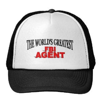 El agente del FBI más grande del mundo Gorro De Camionero