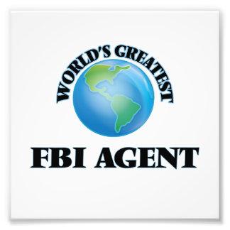 El agente del FBI más grande del mundo Arte Con Fotos