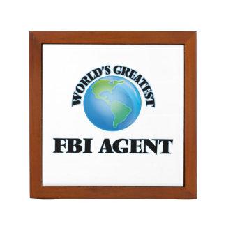 El agente del FBI más grande del mundo Portalápices