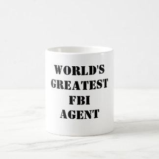 El agente del FBI más grande del mundo Taza