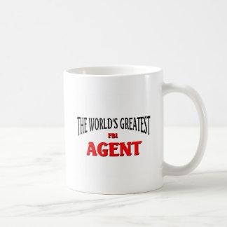 El agente del FBI más grande del mundo Taza De Café