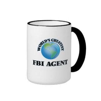 El agente del FBI más grande del mundo Taza De Dos Colores
