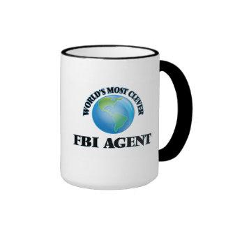 El agente del FBI más listo del mundo Taza De Dos Colores