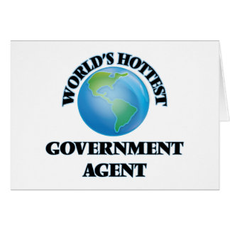 El agente del gobierno más caliente del mundo felicitación
