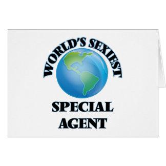 El agente especial más atractivo del mundo felicitaciones