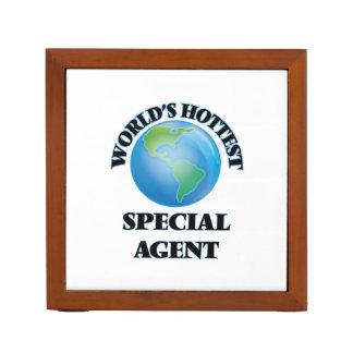 El agente especial más caliente del mundo organizador de escritorio