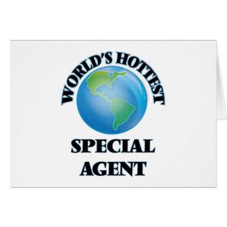 El agente especial más caliente del mundo tarjeta