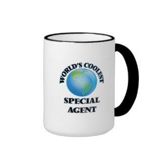 El agente especial más fresco del mundo taza de dos colores