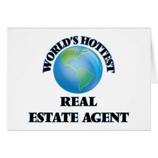 El agente inmobiliario más caliente del mundo tarjetón
