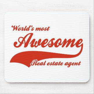 El agente inmobiliario más impresionante del mundo alfombrilla de ratones