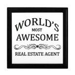 El agente inmobiliario más impresionante del mundo joyero cuadrado grande