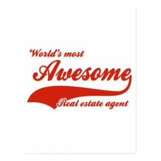 El agente inmobiliario más impresionante del mundo postal