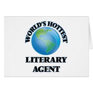 El agente literario más caliente del mundo tarjeta