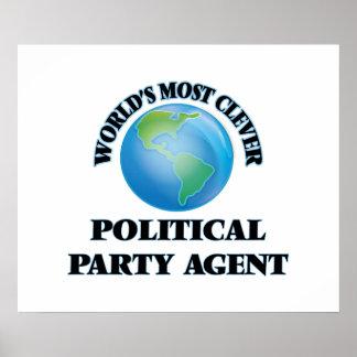 El agente más listo del fiesta político del mundo póster
