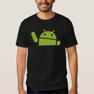 El agitar androide playera