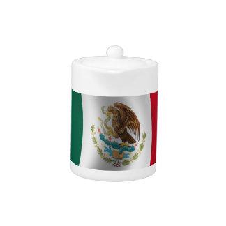 El agitar de la bandera mexicana