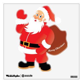 El agitar de Papá Noel Vinilo