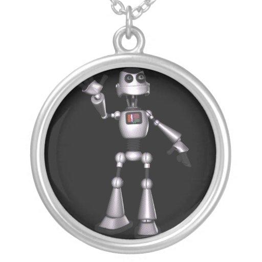 el agitar de semitono del individuo del robot de l colgante redondo