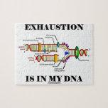 El agotamiento está en mi DNA (la réplica de la DN Puzzles Con Fotos