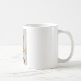 El agresor taza de café