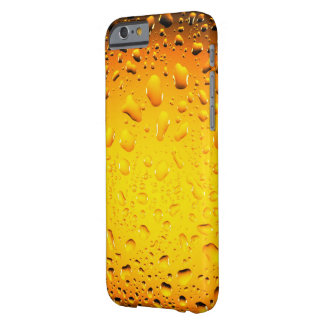 El agua amarilla fresca elegante cae el iPhone 6 Funda Barely There iPhone 6
