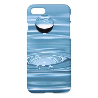 El agua azul clara cae el iPhone de Barely There 7 Funda Para iPhone 7