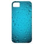 El agua azul fresca cae el caso del iPhone 5 iPhone 5 Case-Mate Fundas