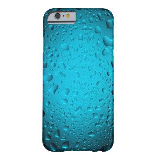 El agua azul fresca cae el caso del iPhone 6 Funda De iPhone 6 Barely There