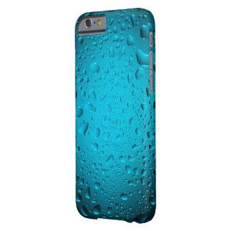 El agua azul fresca cae el caso del iPhone 6 Funda Barely There iPhone 6