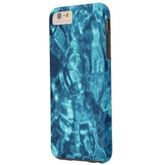 El agua azul ondula la caja dura más del iPhone 6 Funda De iPhone 6 Plus Tough
