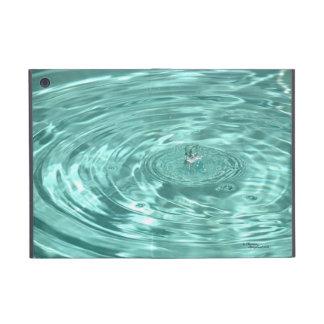 El agua cae caso del iPad de las ondulaciones de l iPad Mini Fundas