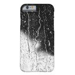 El agua cae las tejas finas cristalinas Beautif Funda Para iPhone 6 Barely There