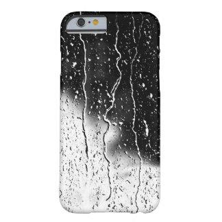 El agua cae las tejas finas cristalinas Beautif Funda De iPhone 6 Barely There