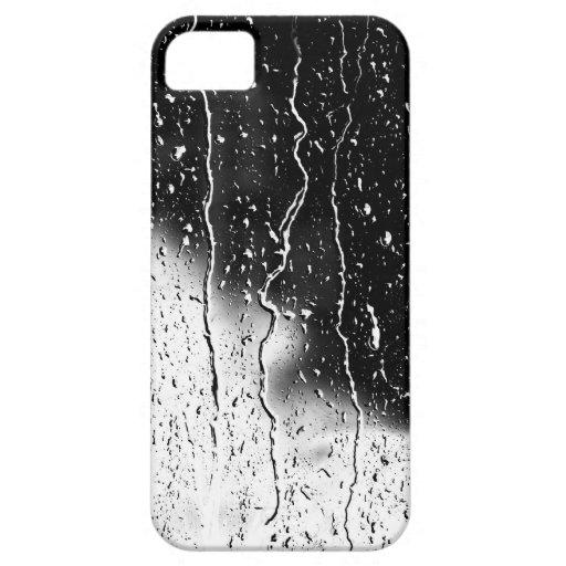 El agua cae las tejas finas cristalinas Beautif iPhone 5 Fundas