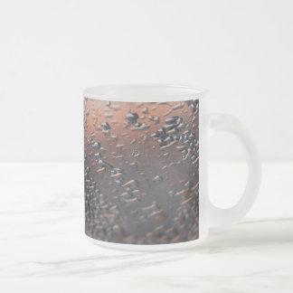 El agua condensada cae 10 onzas tazas de café