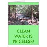 ¡El agua de Claean es inestimable! Felicitacion