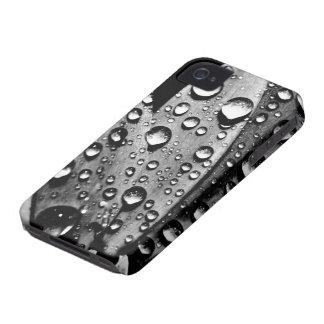 El agua del vintage cae fotografía fresca carcasa para iPhone 4 de Case-Mate