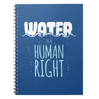 El agua es un derecho humano libros de apuntes