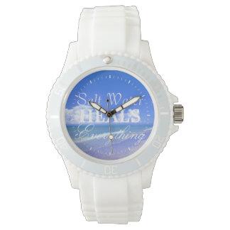 El agua salada cura todo relojes de pulsera