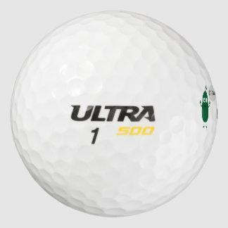 el aguacate loco desnuda pack de pelotas de golf