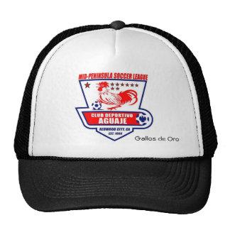 EL Aguaje Logo, Gallos de Oro hat