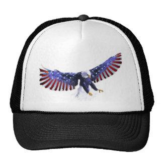 El águila de América Gorros Bordados