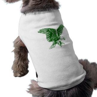 El águila estupenda nigeriana aviva ideas del rega camisa de mascota