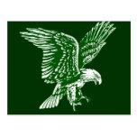 El águila estupenda nigeriana aviva ideas del rega postal